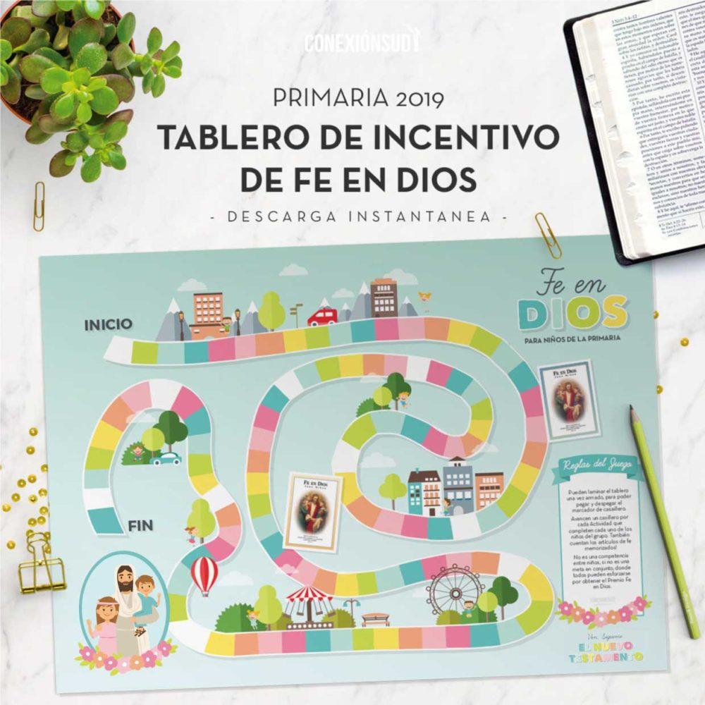 Tablero Fe en Dios - Primaria 2019 - Ven Sigueme Nuevo Testamento - ConexionSUD