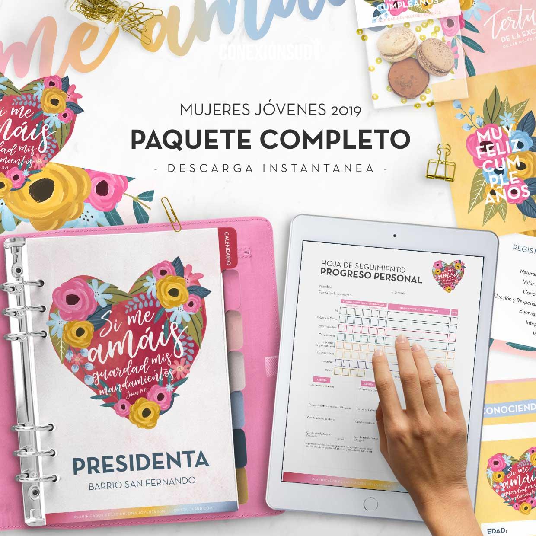 Paquete Completo- Mujeres Jovenes 2019 - ConexionSUD