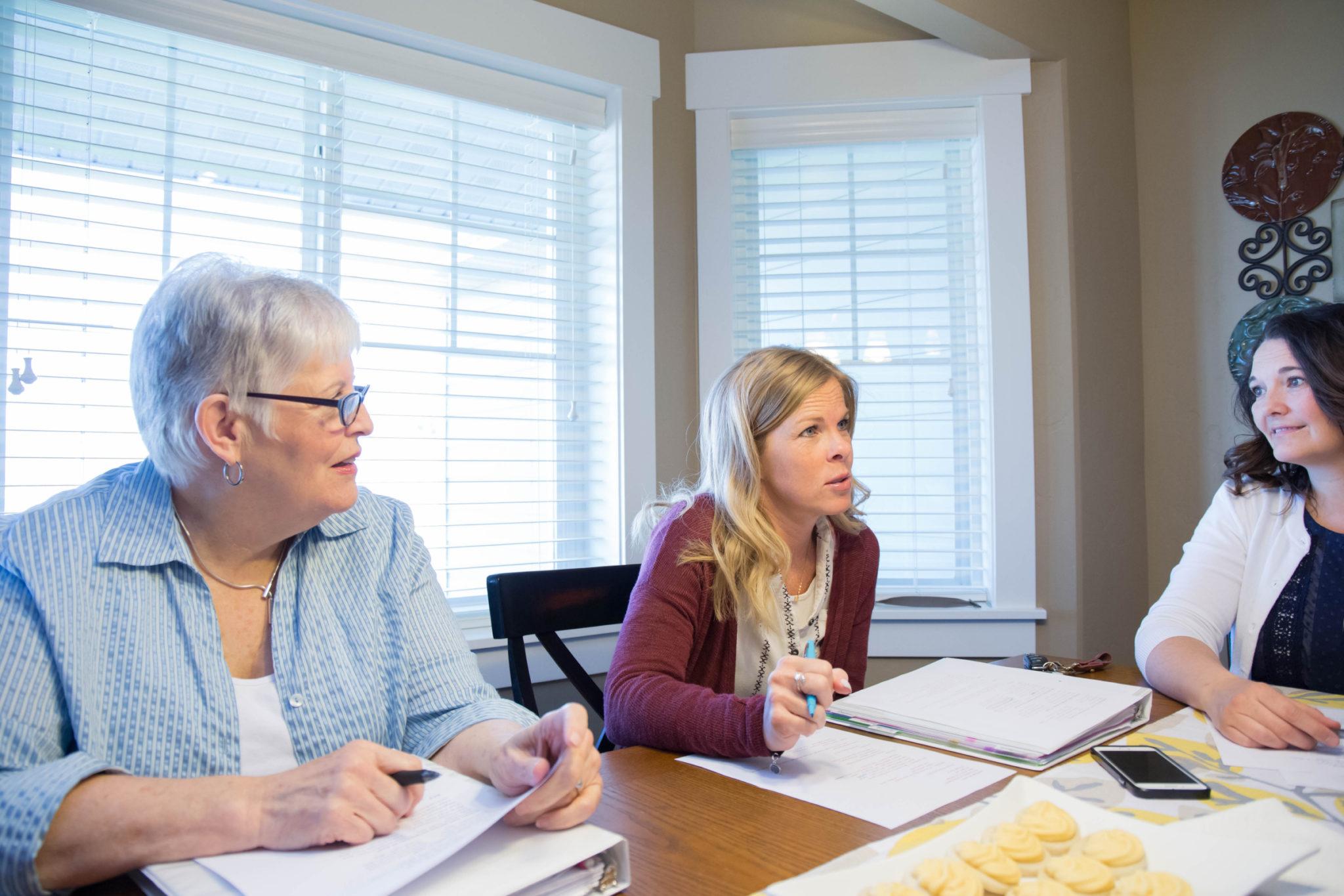reunion de presidencia de la Primaria llamamiento servicio consejo planificacion organizacion