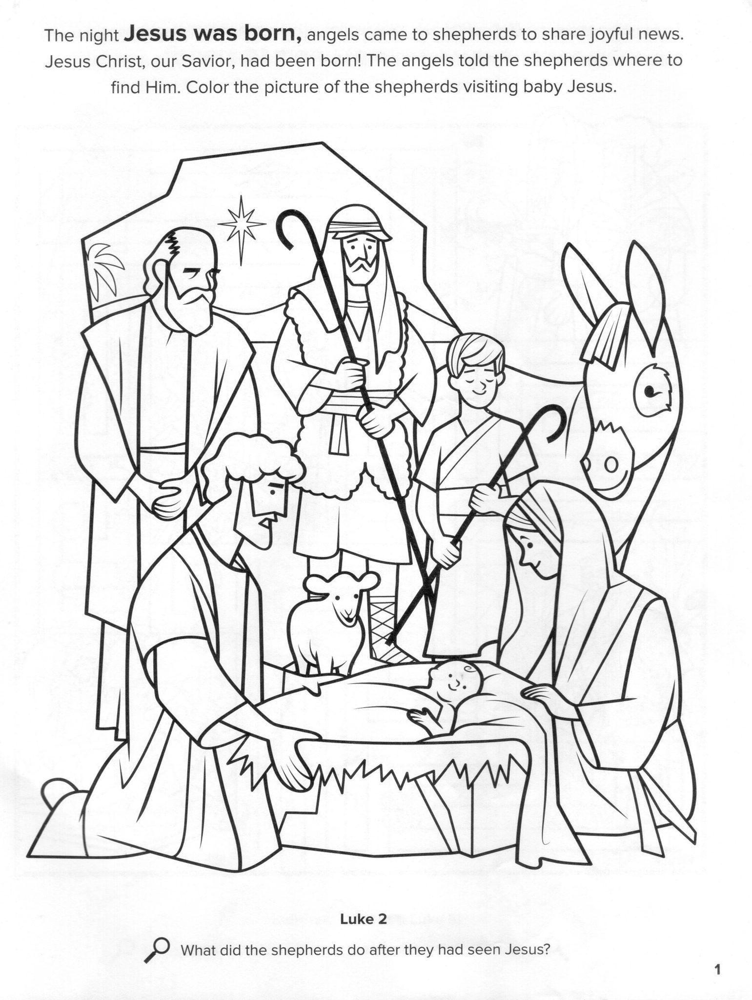 Nacimiento de Jesus Navidad Natividad Pastores