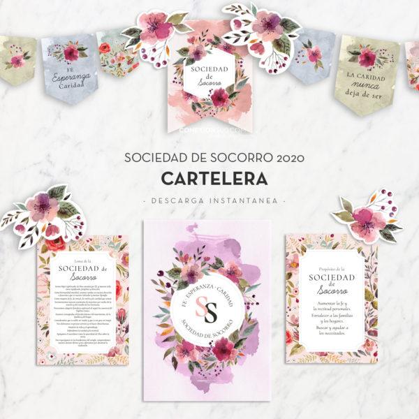 Sociedad de Socorro 2020 - Cartelera ConexionSUD