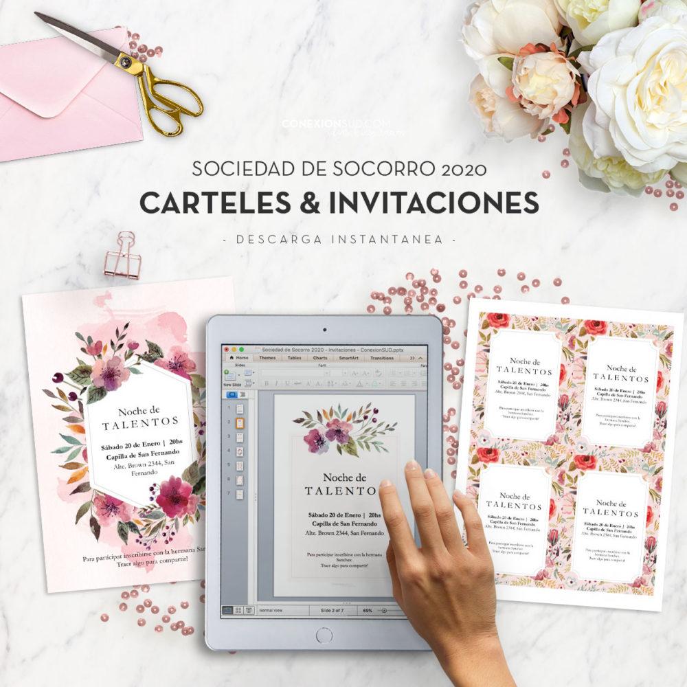 Sociedad de Socorro 2020 - Invitaciones ConexionSUD