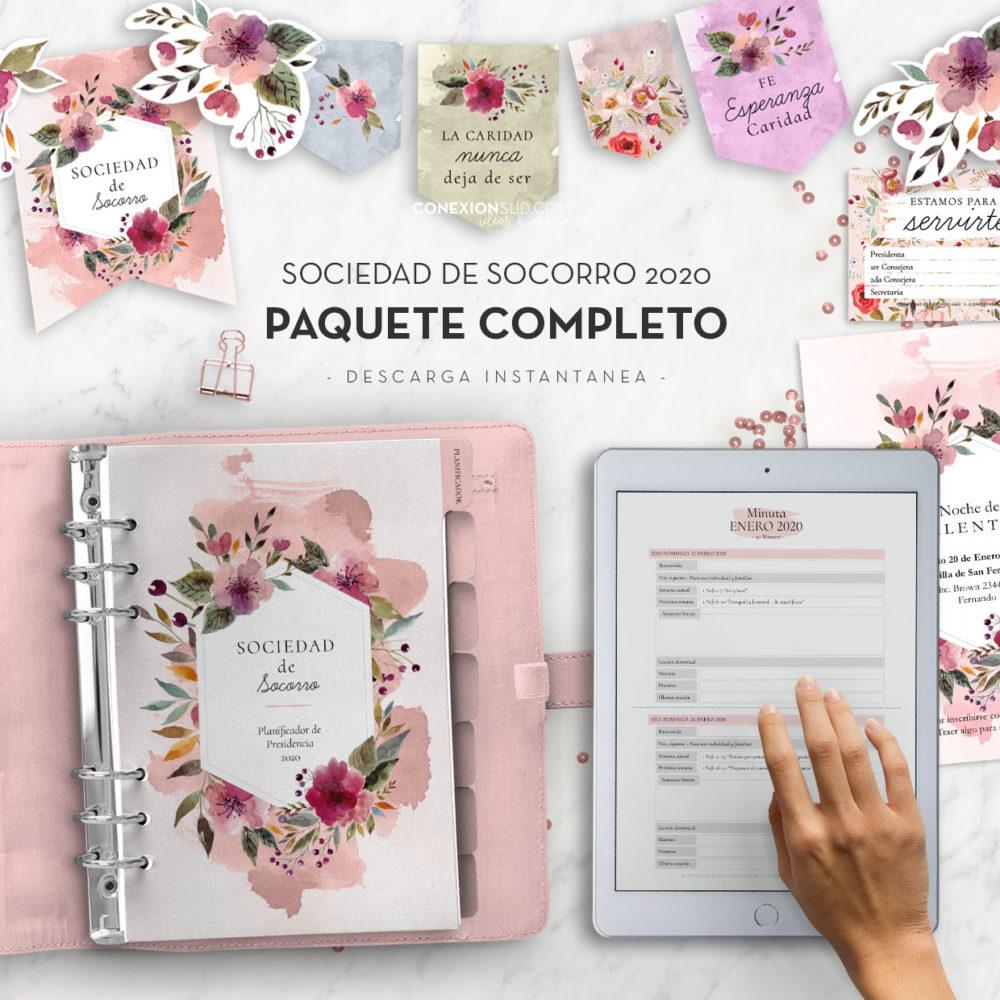 Sociedad de Socorro 2020 - Paquete Completo ConexionSUD