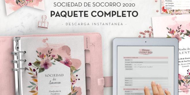 Sociedad de Socorro 2020 | Paquete Completo