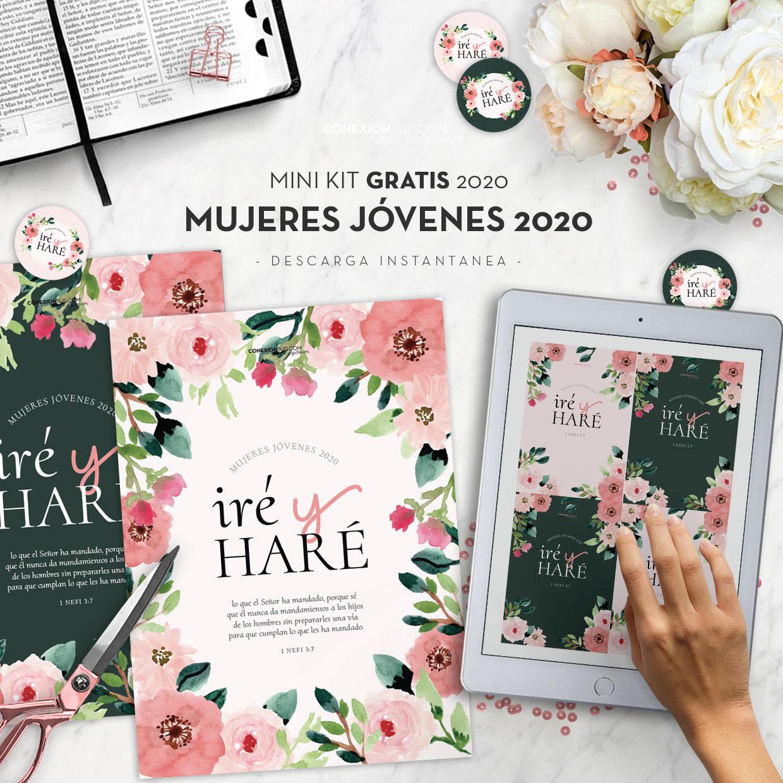 GRATIS | MiniKit Lema de la Juventud 2020 | Mujeres Jóvenes