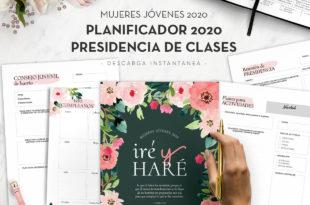 Planificador Presidencia de Clases Mujeres Jóvenes 2020