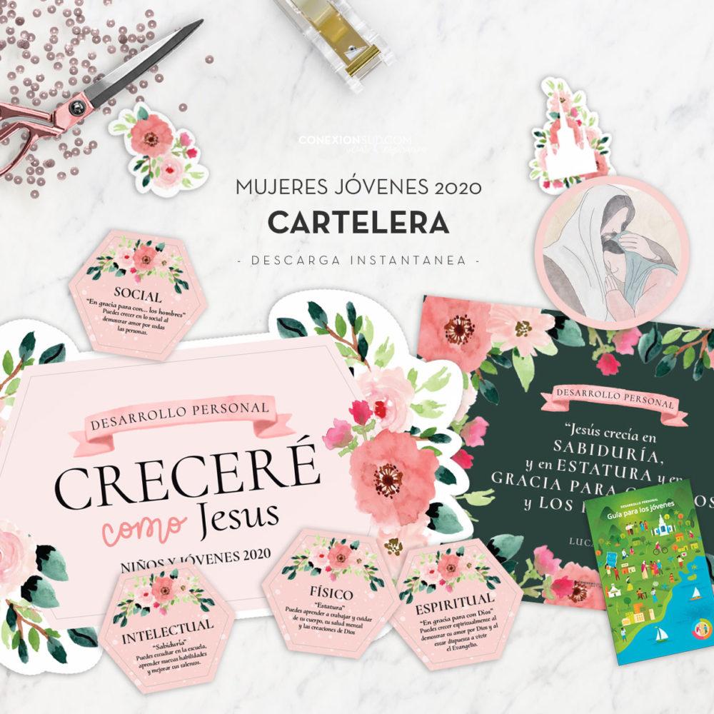 Cartelera de Anuncios-Mujeres-Jovenes-2020-ConexionSUD