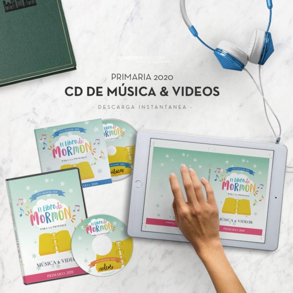 CD Musica Primaria 2020 - Ven Sigueme 2020 El Libro de Mormon - ConexionSUD