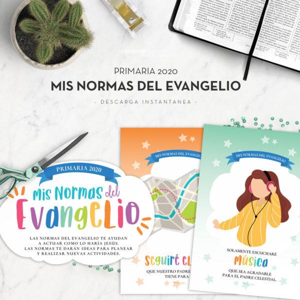 Estos carteles de Mis Normas del Evangelio muestran todos de valores que ayudarán a los niños de la Primaria a vivir más plenamente las enseñanzas del Evangelio. Son en tamaño A4.