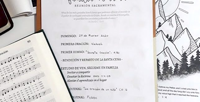 Reunión Sacramental en el Hogar