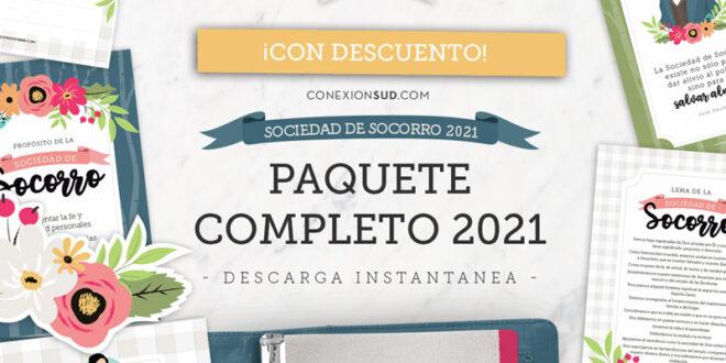 Paquete Completo de la Sociedad de Socorro 2021 | Editables & Imprimibles