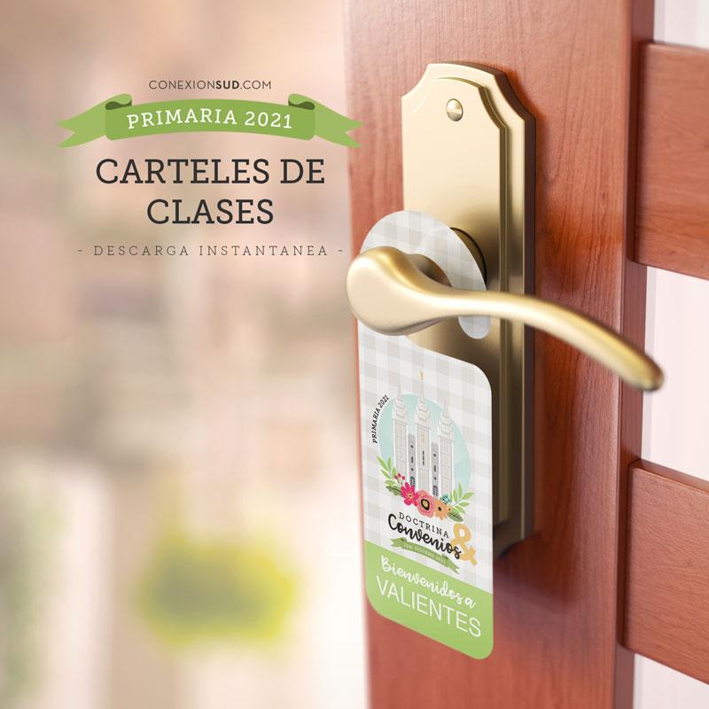 Carteles para Salones de Clases | Primaria 2021