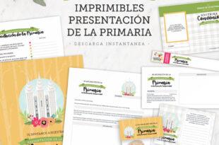 Imprimibles para la Presentación de la Primaria 2021 | Ven, Sígueme Doctrina y Convenios