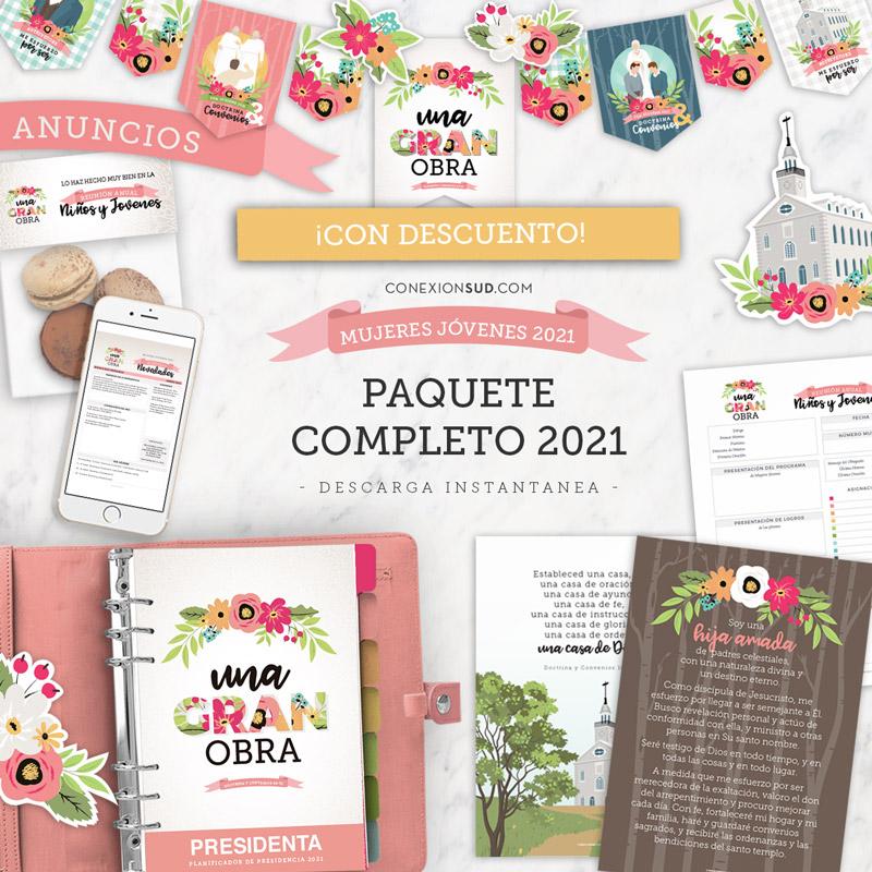 Paquete Completo Mujeres Jóvene 2021 Una Gran Obra