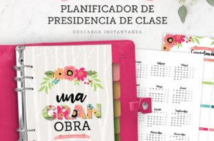 Planificador de Presidencias de Clases | Mujeres Jóvenes 2021