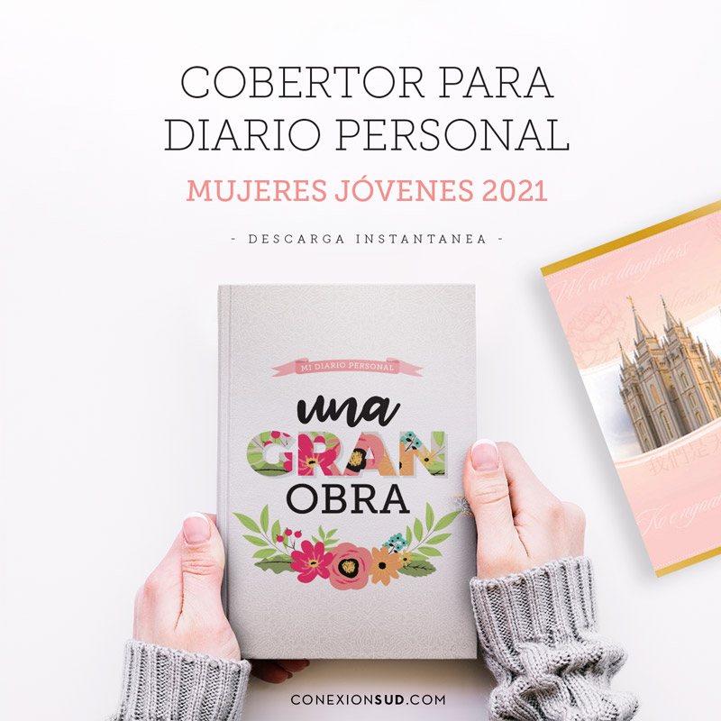 Cobertor para Diario Personal de Mujeres Jóvenes 2021