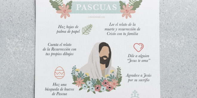 Bucket list de Pascuas | Actividades para hacer en casa