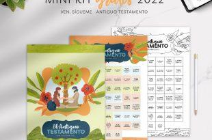 Mini Kit GRATIS - Ven Sigueme 2022 Antiguo Testamento - ConexionSUD